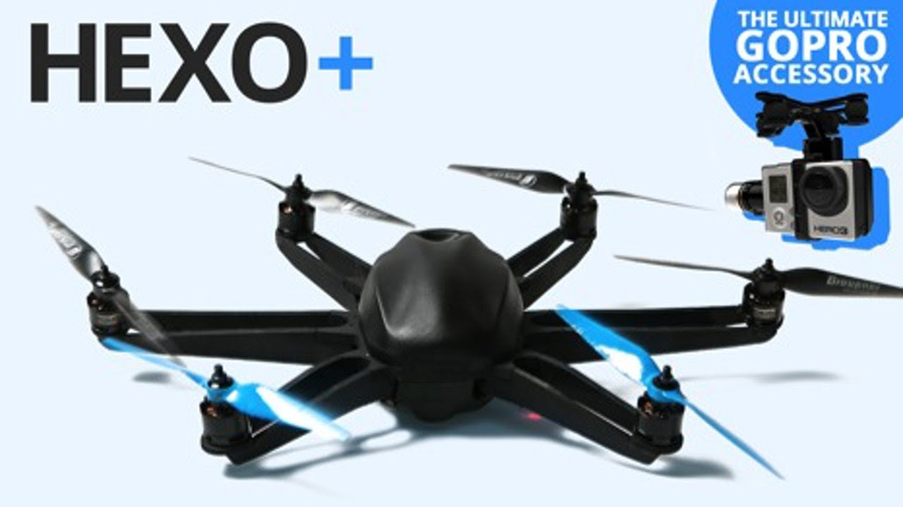 HEXO+ for GoPro : An intelligent drone that follows and films you !