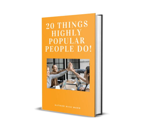 BUY Book 20 Things Highly Popular People Do