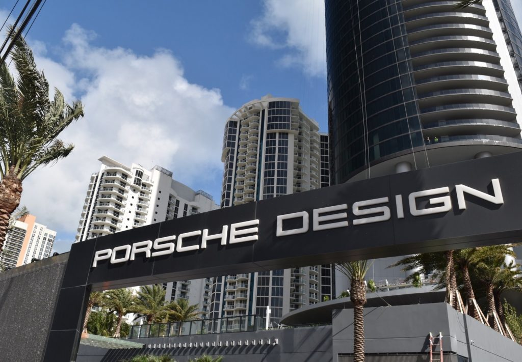 Porsche Design Tower in Sunny Isles